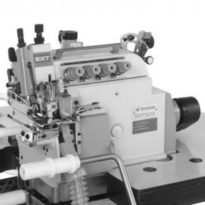 4-ниточный скоростной оверлок для вшивания горловин футболок EXT5114-04/433-2×4/KS380/Z054/PT