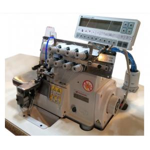 4-ниточный ультраскоростной оверолок с автоматической закрепкой и с электронной панелью Pegasus MX5214M-83BA/333K-2×4/BL/Y2103