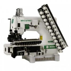 12-игольная швейная машина с цилиндрической платформой Zoje ZJ1414-100-403-601-613-12064