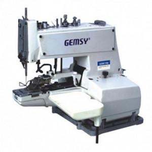 Gemsy GEM373 пуговичный полуавтомат цепного стежка