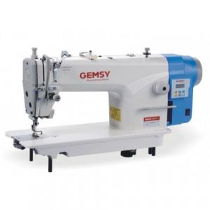 Gemsy GEM8801D1 одноигольная прямострочная машина с прямым приводом и обрезкой нити
