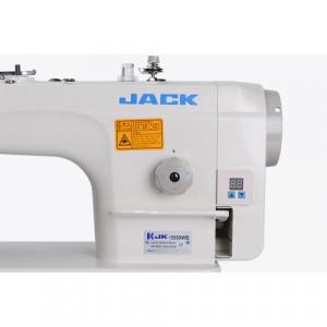 Jack JK-5558WB универсальная прямострочная одноигольная машина с обрезкой края материала и встроенным сервоприводом