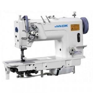 Jack JK-58420-005 Двухигольная промышленная швейная машина без отключения иглы