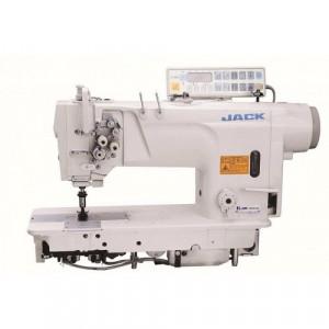 Jack JK-58420D-405 Двухигольная промышленная швейная машина с автоматикой и без отключения игл