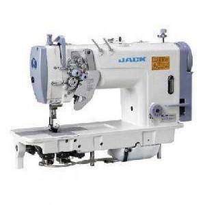 Jack JK-58450-005 Двухигольная промышленная швейная машина с отключением игл