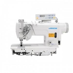 Jack JK-58450D-403 Двухигольная промышленная швейная машина с автоматикой и отключением игл