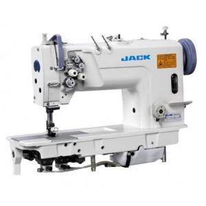 Jack JK 58720 Двухигольная промышленная швейная машина без отключения игл с увеличенными челноками