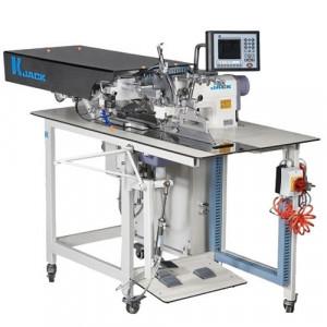 """Jack JK-T5878-58B автоматизированная швейная машина для заготовки планки """"поло"""""""