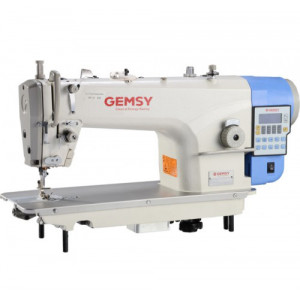 Gemsy GEM8957CE4-H прямострочная одноигольная машина с автоматикой для тяжелых тканей