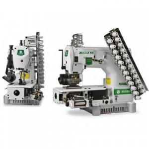 12-игольная швейная машина с цилиндрической платформой Zoje ZJ1414-100-403-601-615-12048