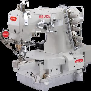 BRUCE-264BDII-01GB/UT 3-иголочная, мини-цилиндрическая платформа с авт.обрезкой нити, авт. подъемом лапки