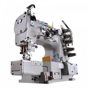 Jack JK-8669-01GBx35AC 3-игольная пятиниточная распошивальная швейная машина