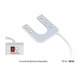 Boshite (Zoje) TD-6 new LED-светильник на магните для швейной машины (подкова)