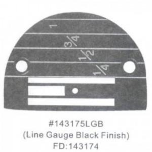 Игольная пластина 143175LGB Универсальная