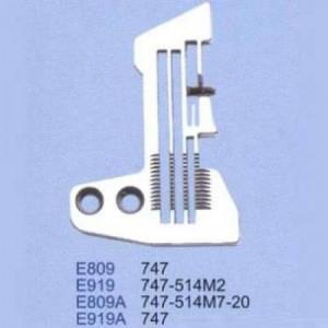 Игольная пластина E809 Siruba