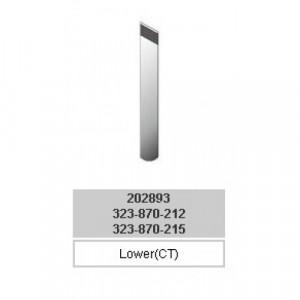 202893CT Нож нижний победитовый