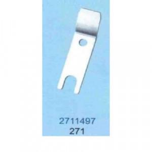 Нож неподвижный 271-1497 Durkopp