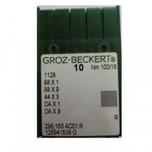 Игла Groz-Beckert 1128, 88x1, 88x9, 44x3, DAx1 10 шт/уп