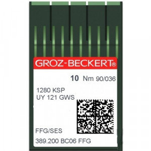 Игла Groz-Beckert 1280KSP, UY121GWS FFG 10 шт/уп