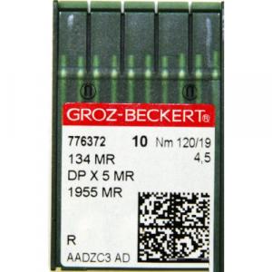 Игла Groz-Beckert 134 MR, DPx5 MR, 1955 MR, 134 SAN 11 с толстой колбой в упаковке 10 шт